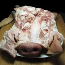 特選台灣產 豬頭皮(半熟帶骨)